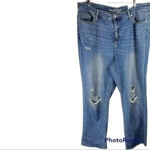 Universal Thread High Rise Straight Crop Jeans 26